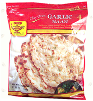 Clay Oven Garlic Naan 4p-10.6oz
