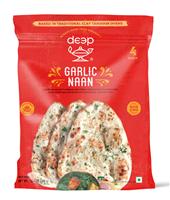 Clay Oven Garlic Naan 4p-10.6oz