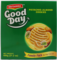 Goodday Pista Almond FP(2.6ozX8)X6
