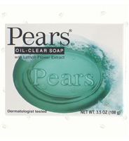 Pears Oil Clear Soap, 3.5 oz