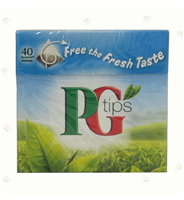 PG Tips Pyramid 40counts