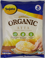 Organic Wheat  Atta 4Lb