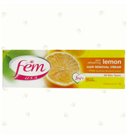 Fem Hair Removal Cream Lemon 4.2Oz