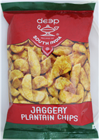 Jaggery Plantain Chips 7oz.