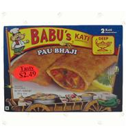 Pau Bhaji 2 Pocket Sandwiches 8oz