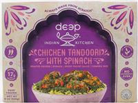Chkn Tandoori w/Spinach&Rice 9 oz