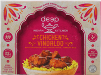 Chicken Vindaloo W/Tumeric Rice 9oz