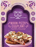 Eggplant Naan Pizza 9 oz.