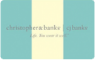 Christopher & Banks Gift Cards