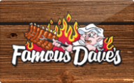 Famous Dave's Gift Cards
