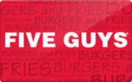 Five Guys Gift Cards