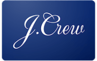 J Crew Gift Cards