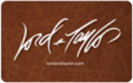 Lord & Taylor Gift Cards