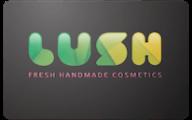 Lush Cosmetics Gift Cards