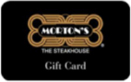 Morton's Steakhouse Gift Cards