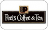 Peet's Coffee & Tea Gift Cards