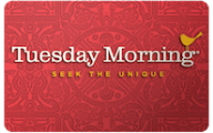Tuesday Morning Gift Cards