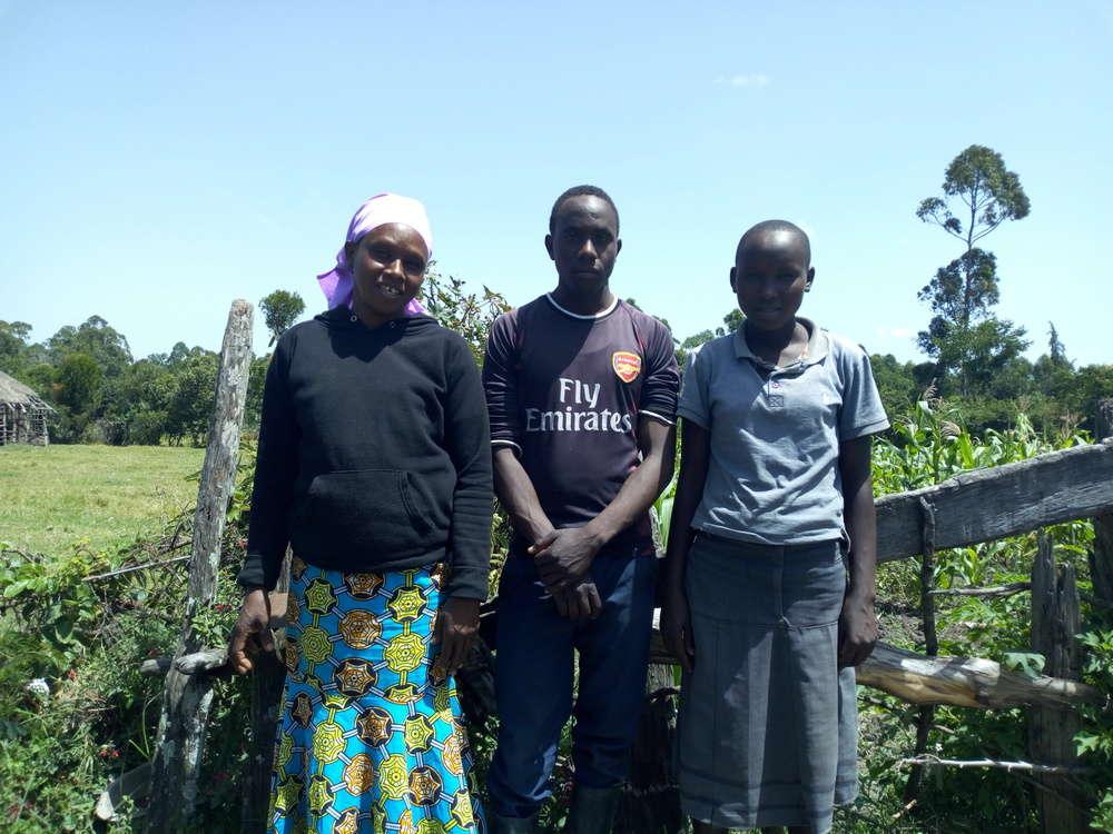 Gladys's family