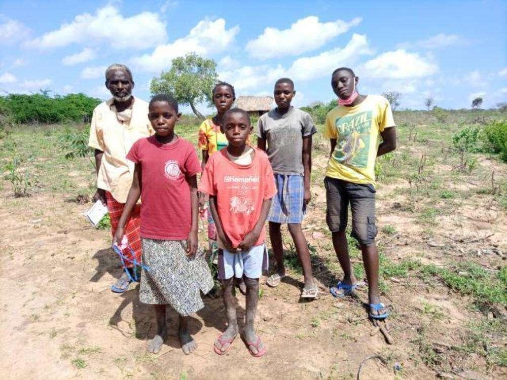 Kazungu's family