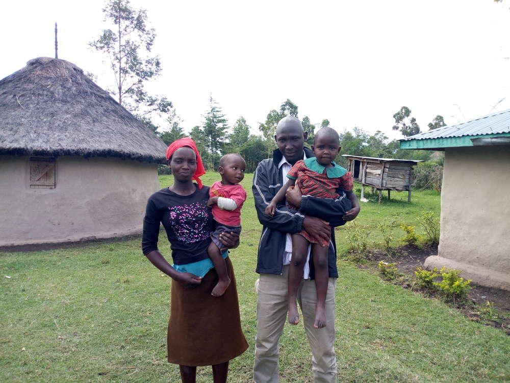 Chepkirui's family