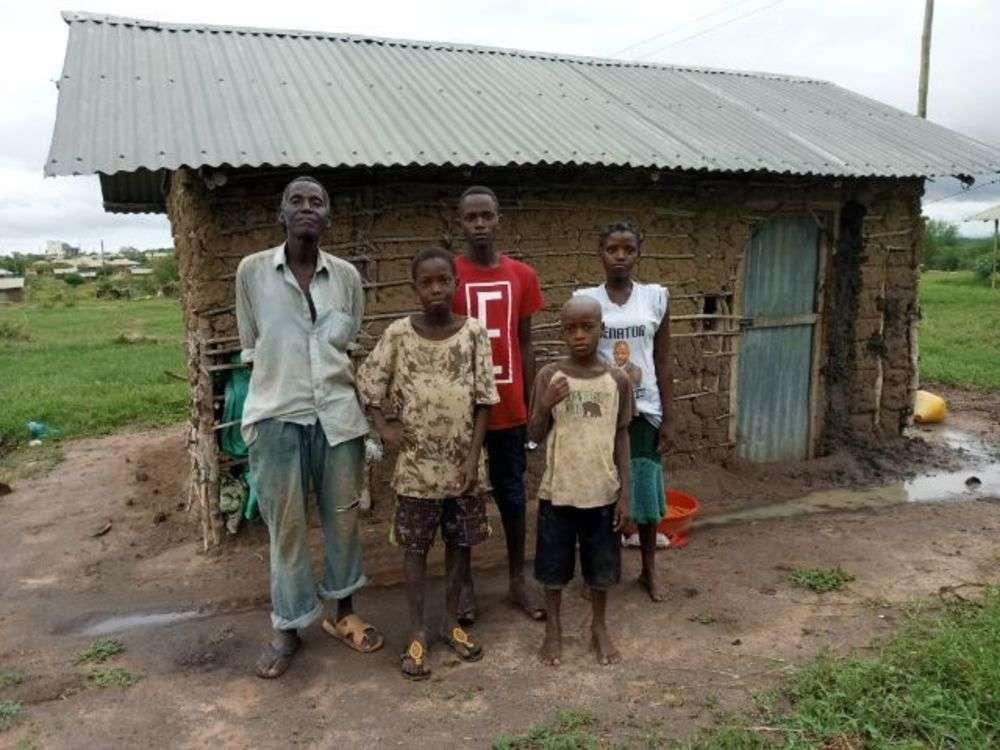 Kitsao's family