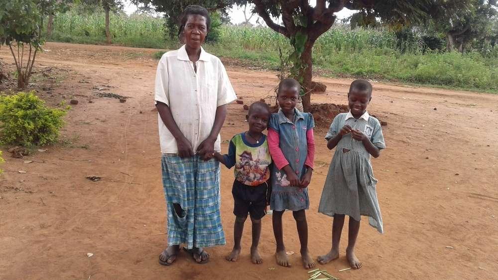 Naigaga's family
