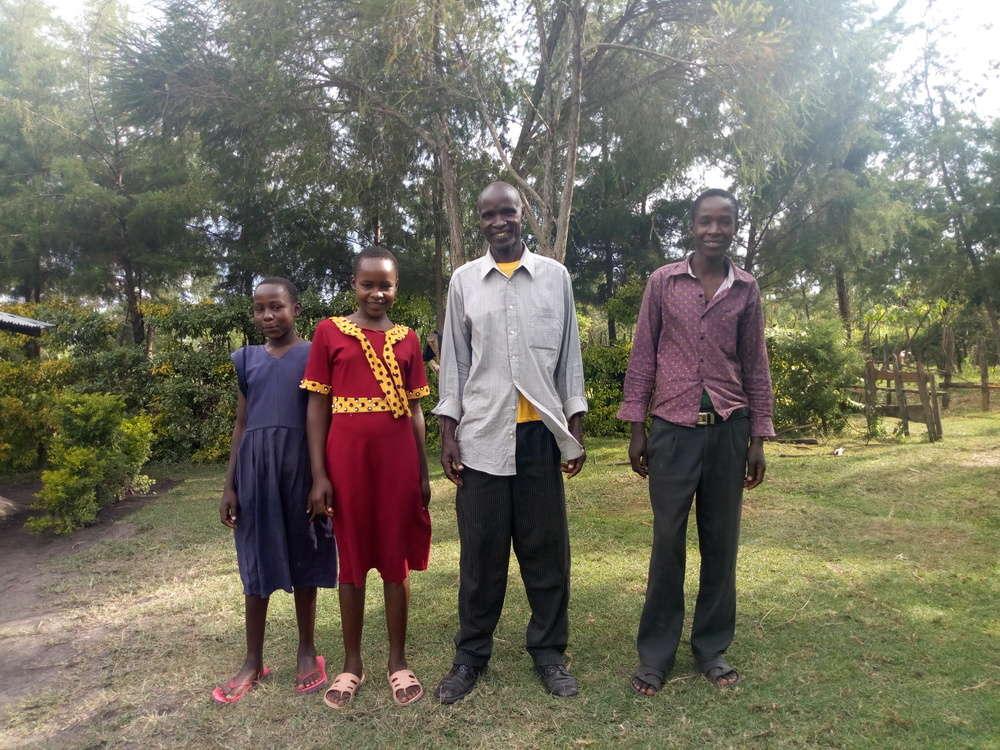 Koskei's family