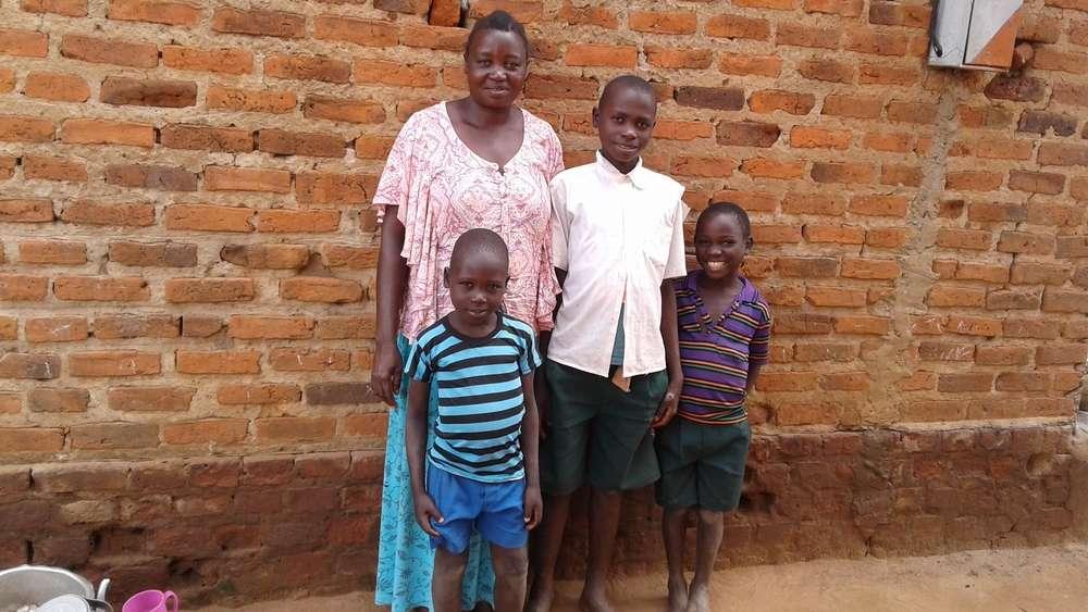 Babirye's family