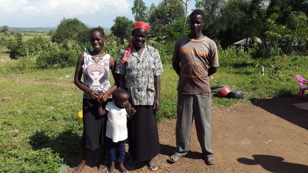 Afline's family