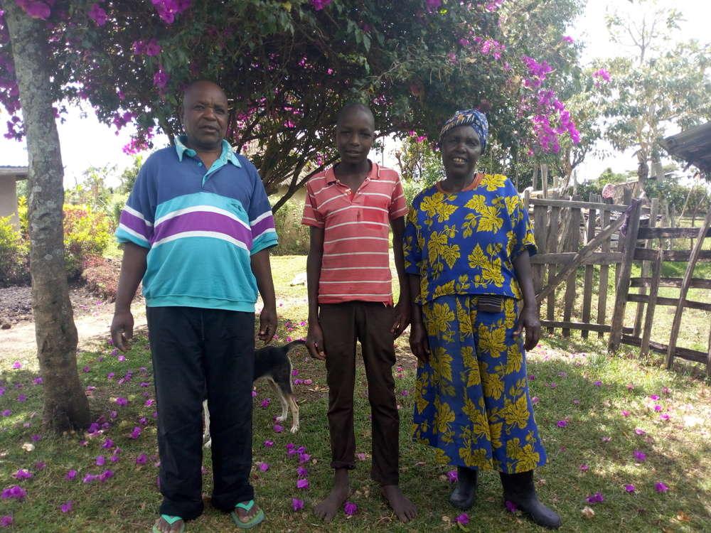 Kiplangat's family