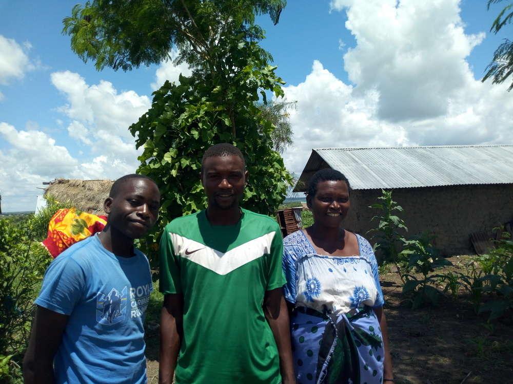 Kahonzi's family