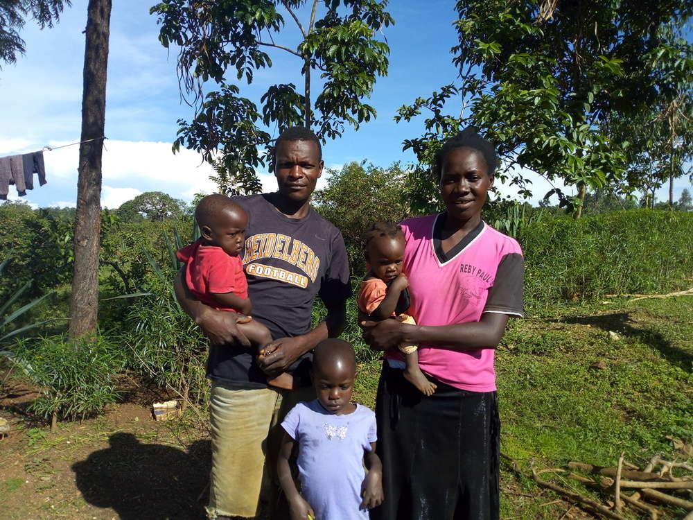 Anyango's family