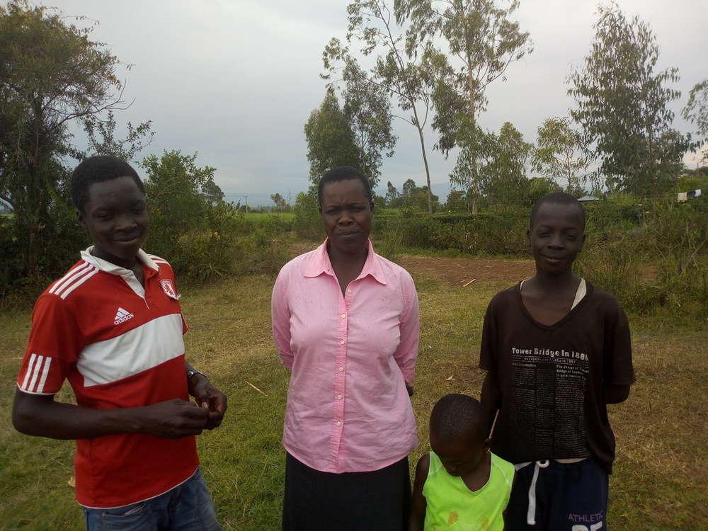 Eucabeth's family
