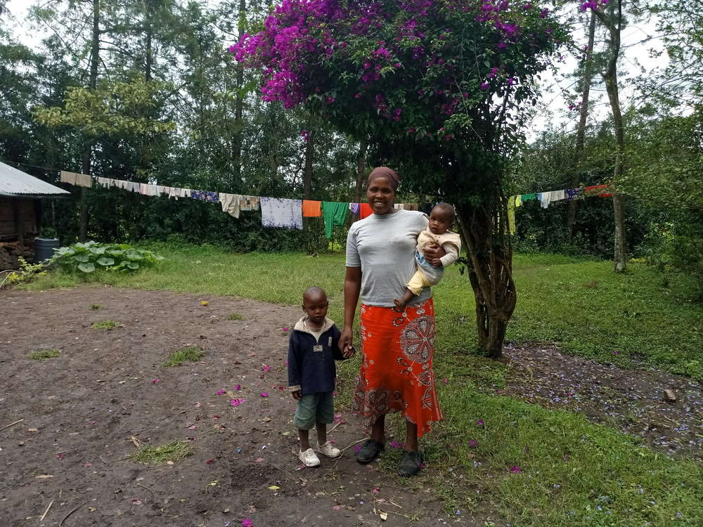 Chelangat's family