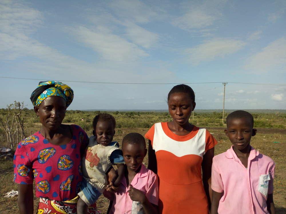 Mujeni's family