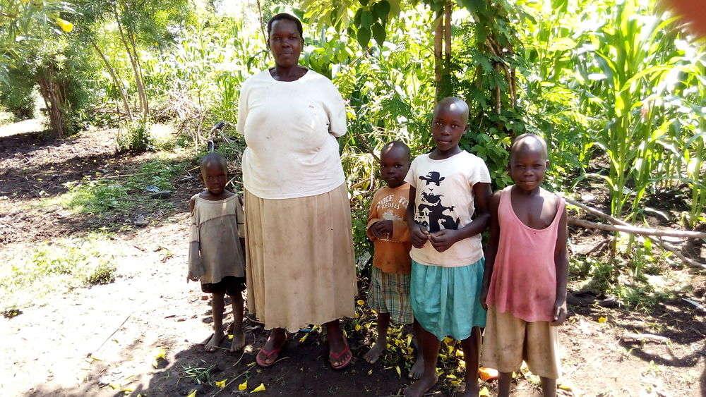 Josinta's family