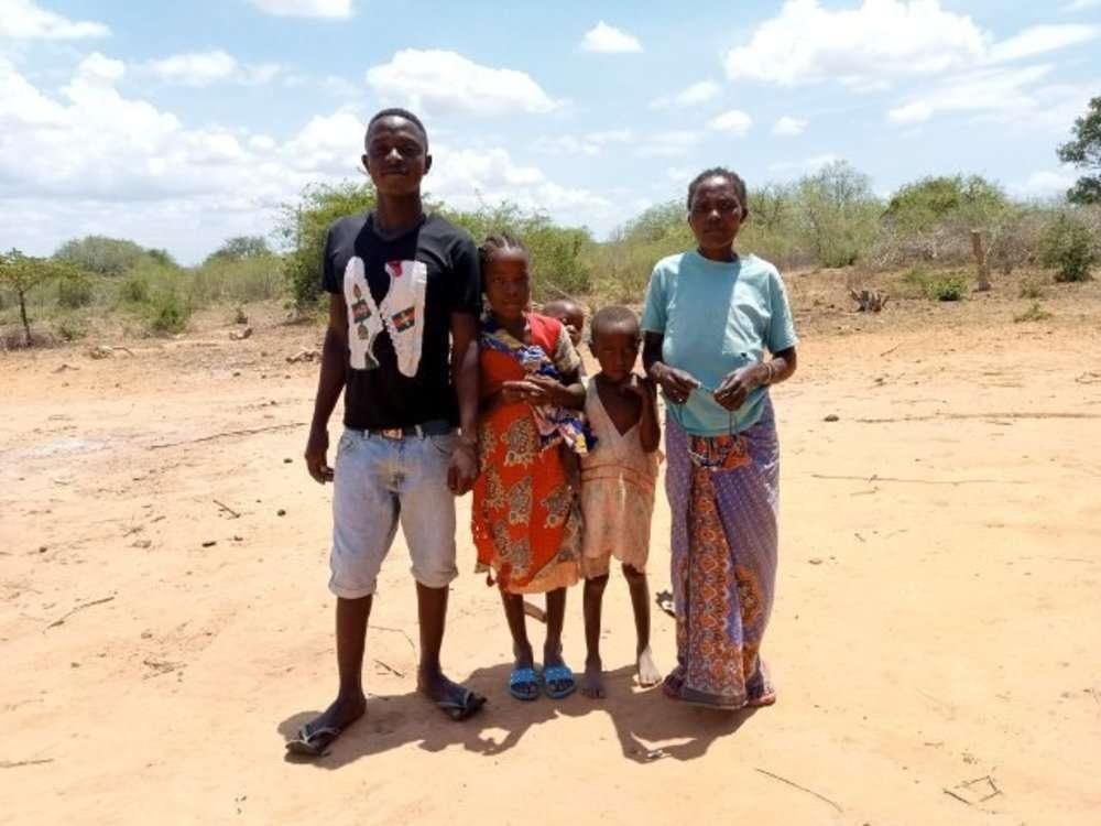 Kahaso's family