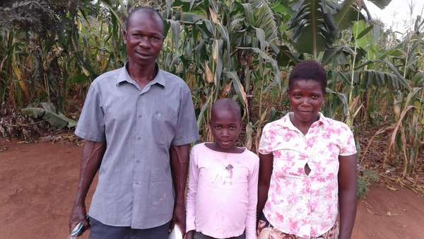 Nalumansi's family