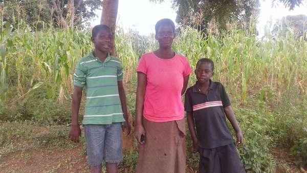 Namayaanja's family