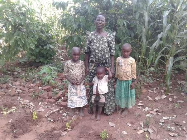 Mbasalaki's family