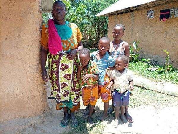 Kadzo's family