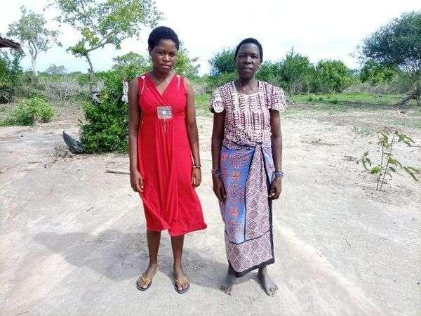Kangombe's family