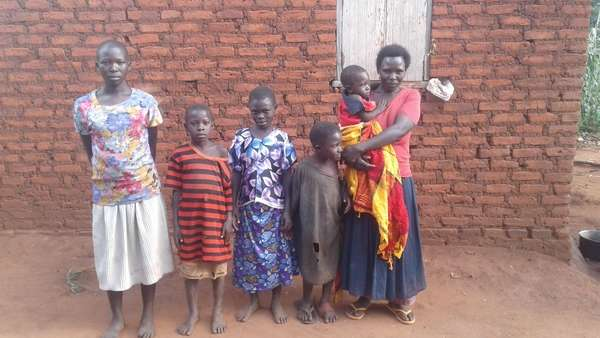 Nambwola's family