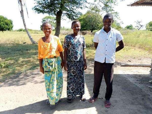 Mwenda's family