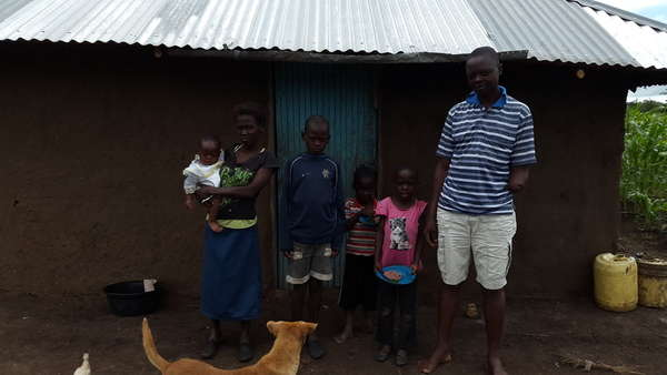 Calvince's family
