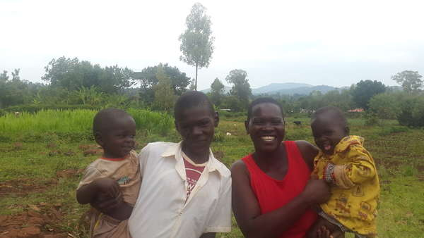 Violet's family