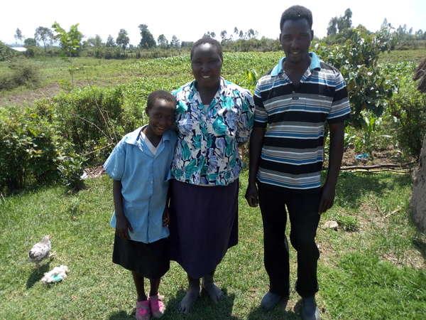 Ednah's family