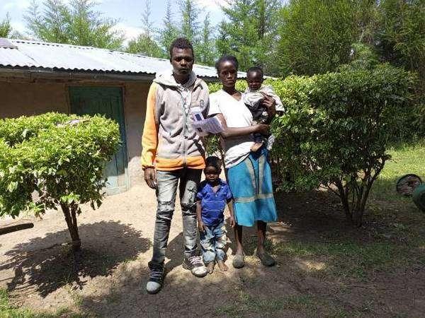 Kikwai's family