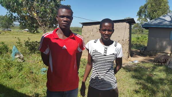 Odhiambo's family