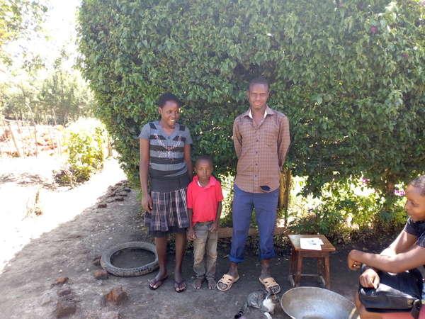 Titus's family